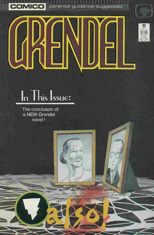 Grendel (2nd Series) comic issue 17